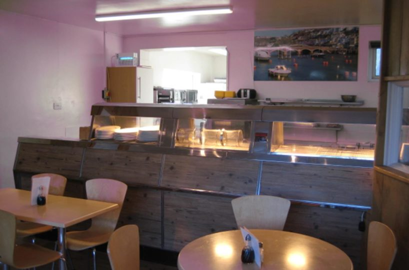Freehold Fish and Chip Takeaway/Restaurant Located In Looe