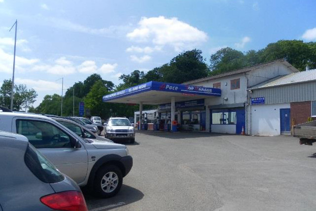 Petrol Station, MOT station and Garage Services In Bromyard, Herefordshire Potential Development Site