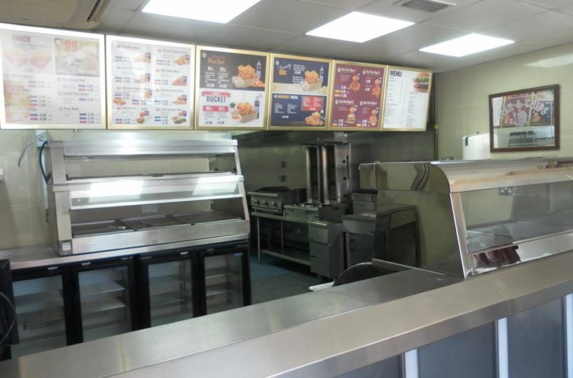 Fish and Chip Shop and Pizza Takeaway Located In Coventry