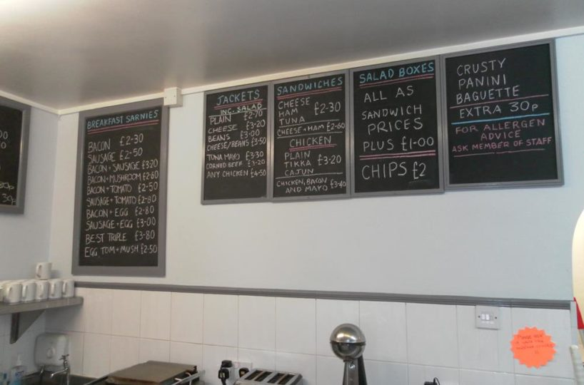 Cafe Located In Kings Norton