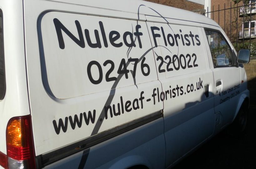 Established Florists Located In Coventry City Centre